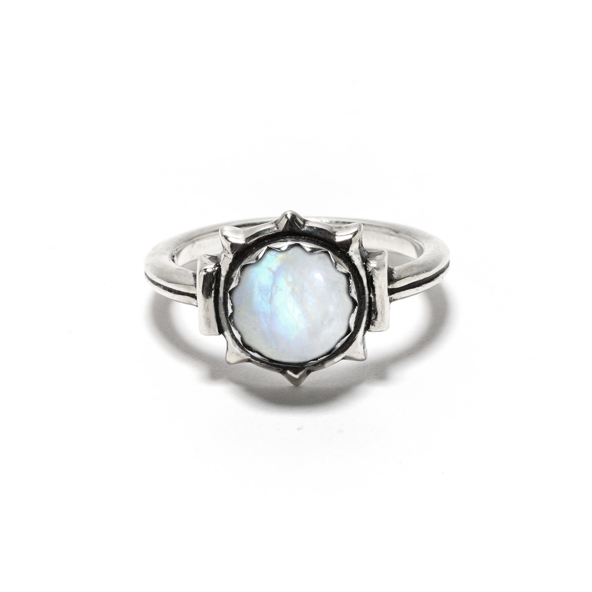 exclusive frida ring in sterling silver with