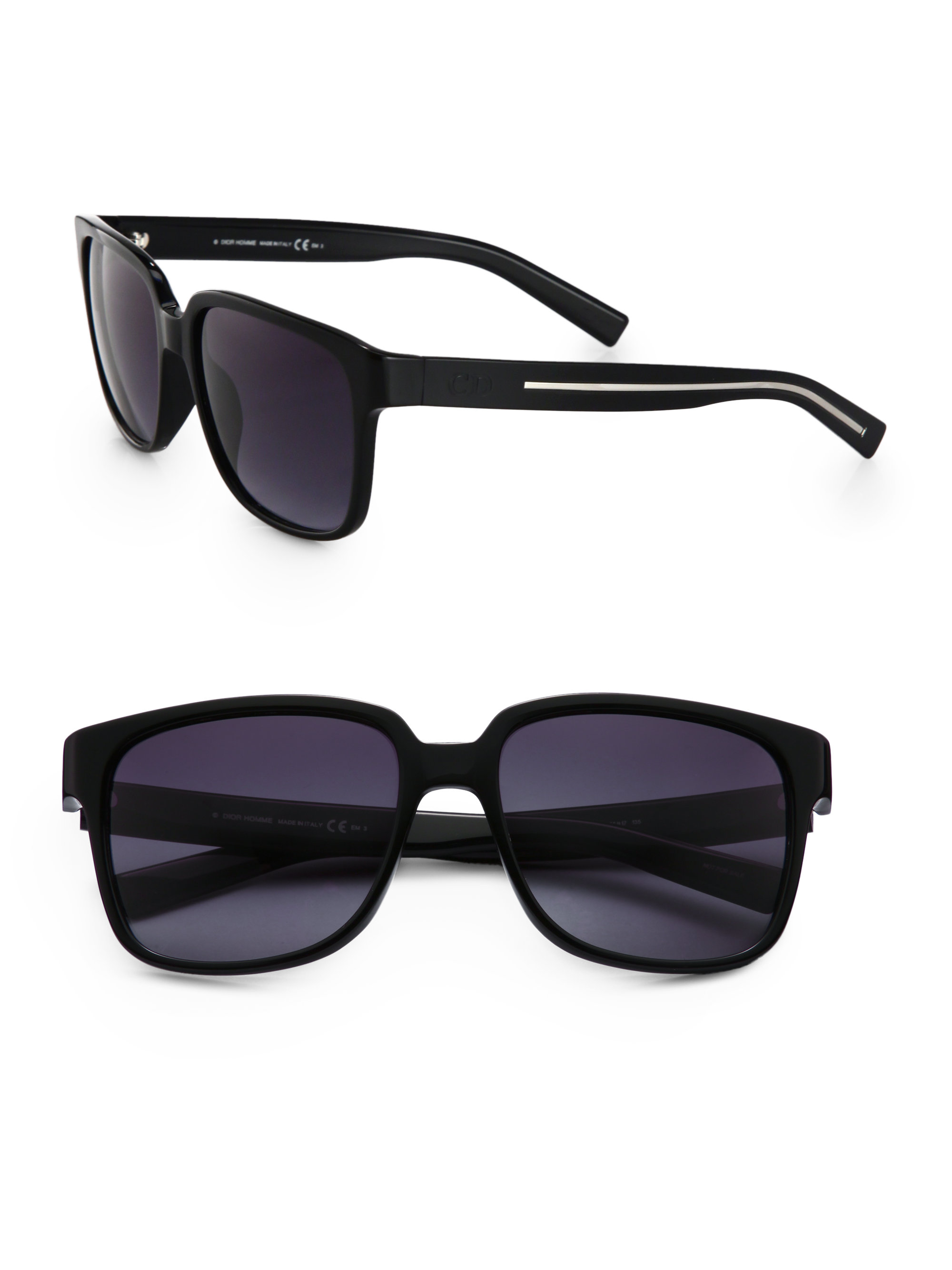 c9433bdc395 Dior Homme Black Tie Sunglasses in Black for Men - Lyst