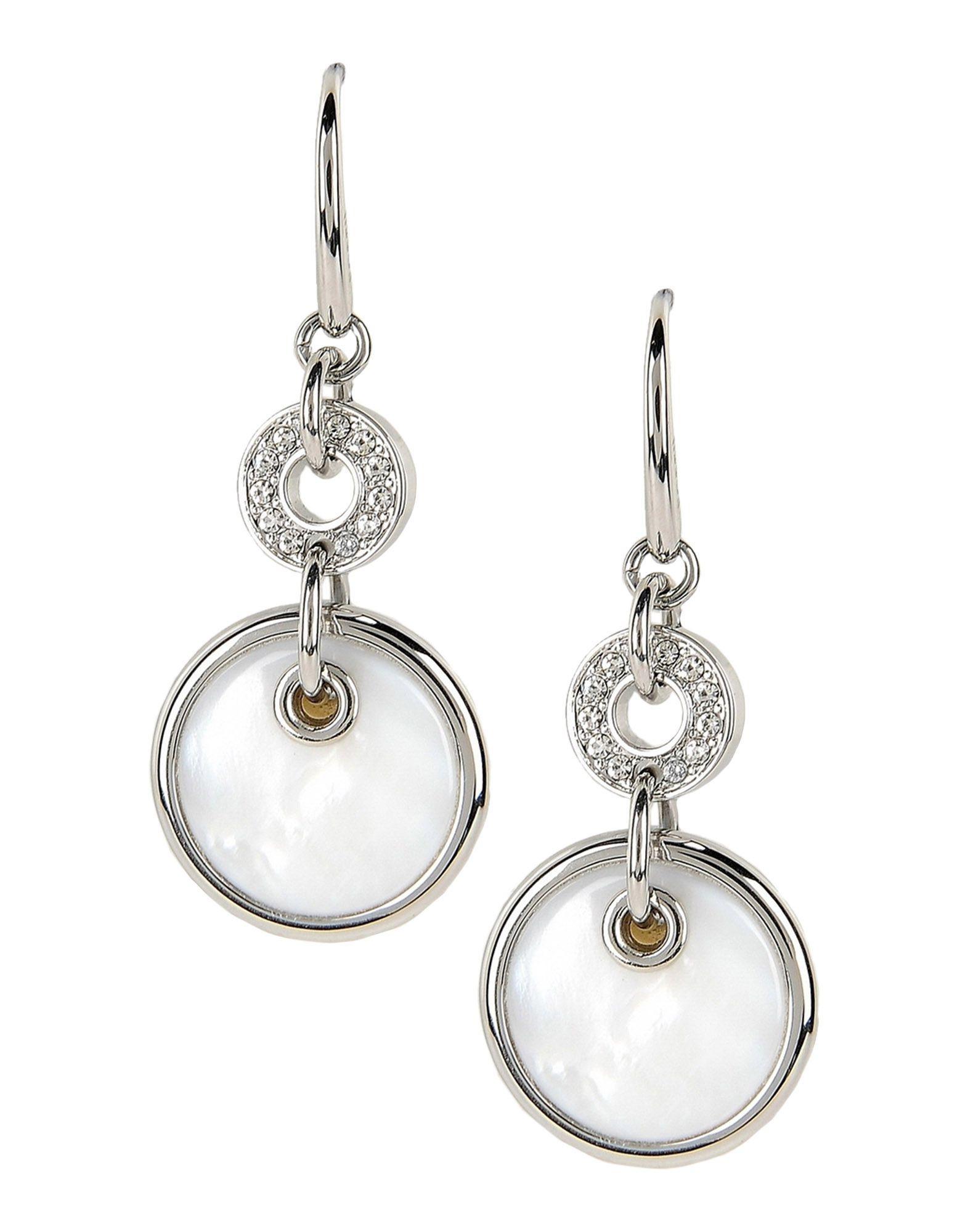 Lyst Fossil Earrings In White