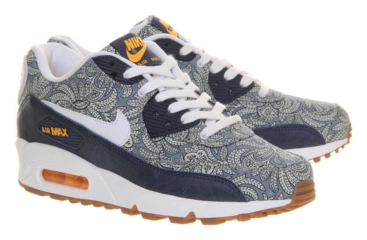Lyst Nike Air Max 90 Liberty In Blue