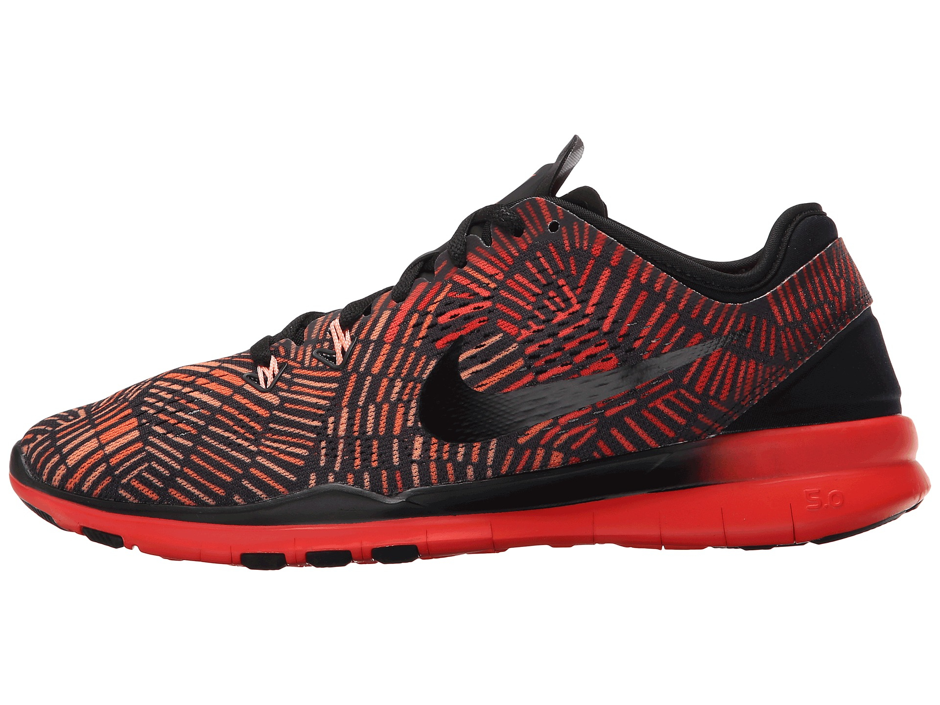 80ad4d2ab5d0 ... training shoe ba6aa 9639d  wholesale lyst nike free 5.0 tr fit 5 prt in  red 3e84a 8e424