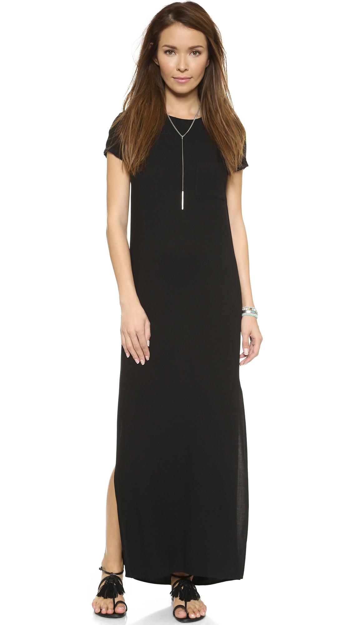 Black black t shirt maxi dress - Gallery Previously Sold At Shopbop Women S T Shirt Dresses