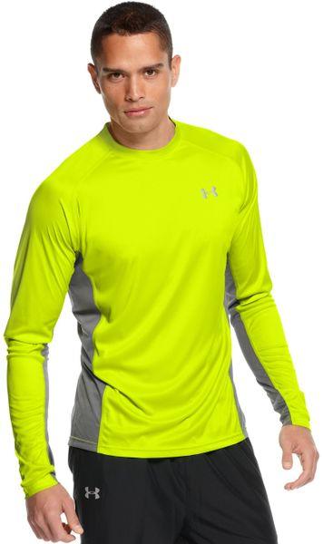 Under armour heatgear flyweight performance running tshirt for Do under armour shirts run small