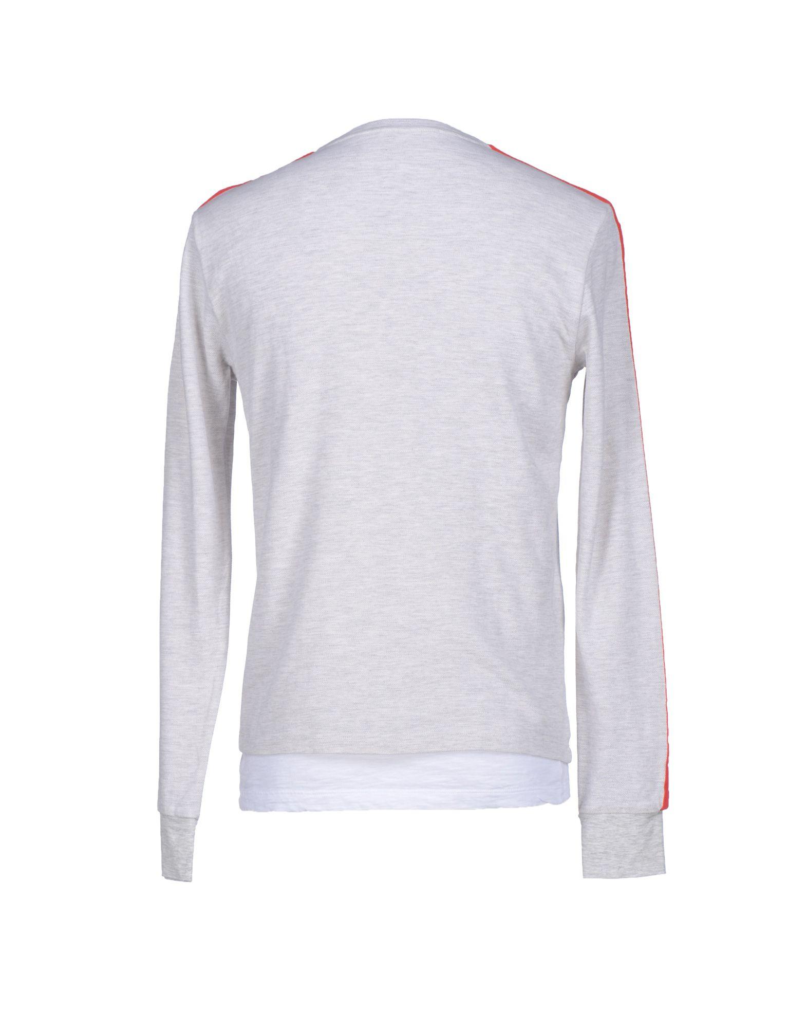 8js T Shirt In Gray For Men Light Grey Lyst