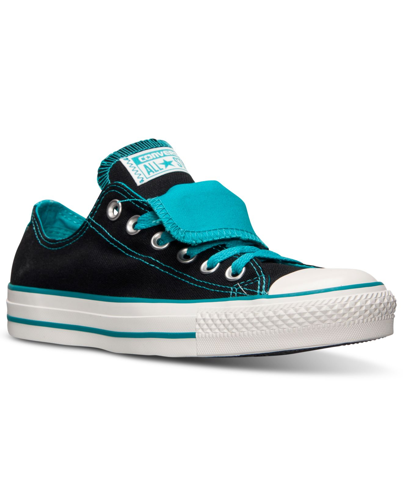 95cd2fa30636 ... where to buy lyst converse womens chuck taylor all star double tongue  casual ad212 43782