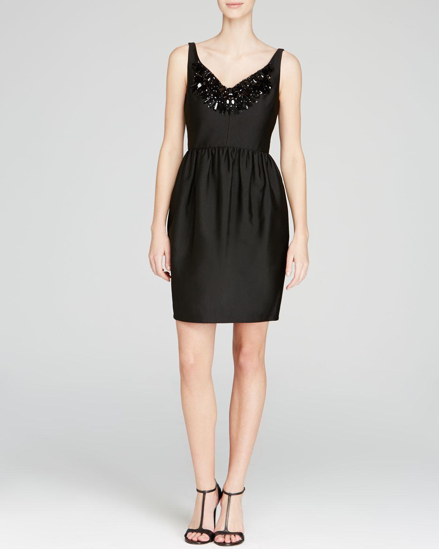 Kate spade embellished cupcake dress in black lyst
