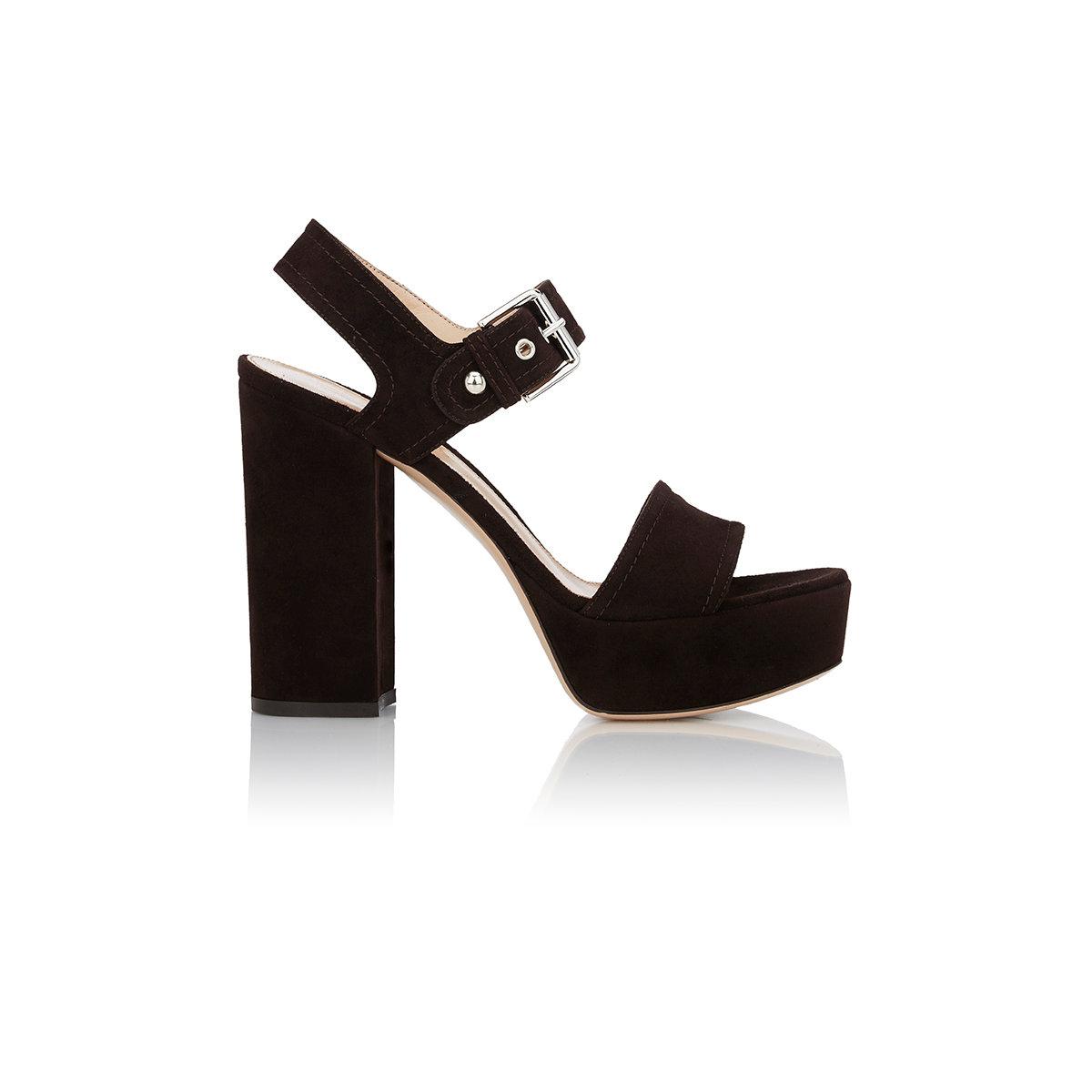 87e8cbb9335bc Lyst - Gianvito Rossi Gina Platform Sandals in Black
