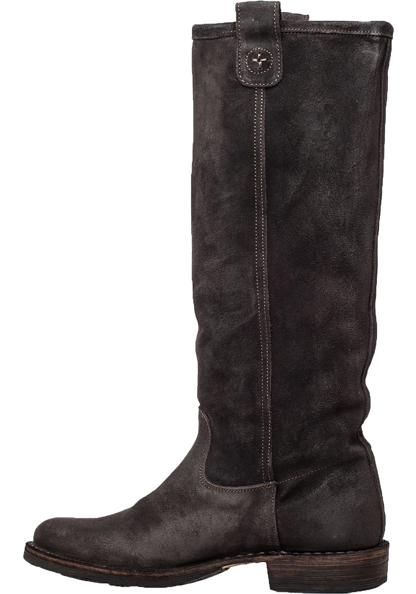 Fiorentini   baker Eternity Effie Suede Knee-High Boots in Brown ...