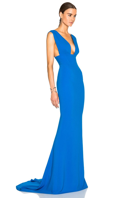 Lyst - Stella Mccartney Kimberly Dress in Blue