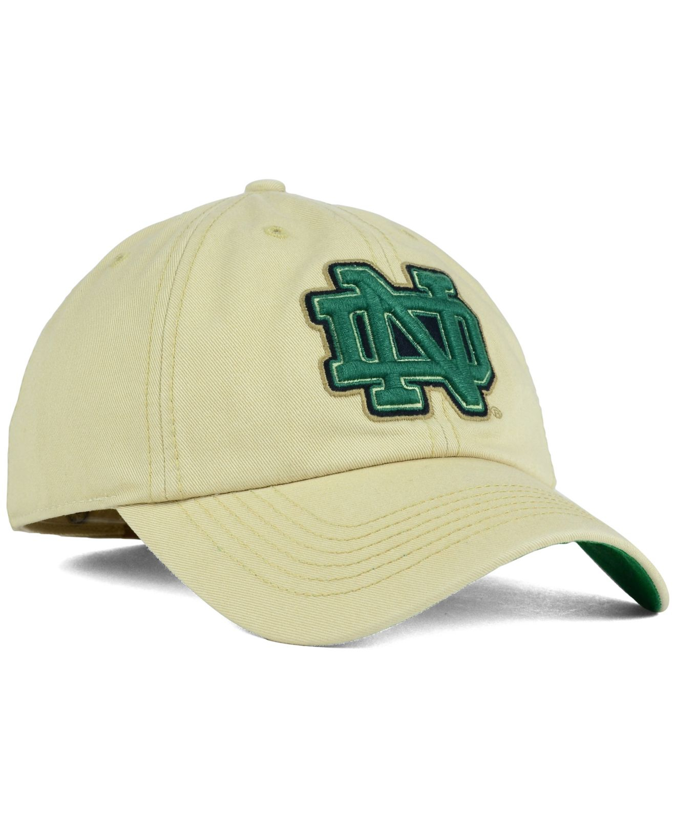 5c994f34fa57b ... hat a2634 f5046 coupon for lyst 47 brand notre dame fighting irish  franchise cap in natural cbb39 1fd21 ...