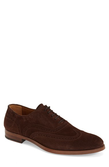 Brown Shoes Square Shaped Tip