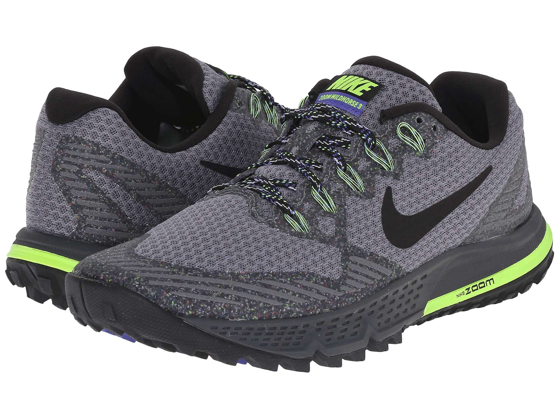 promo code aa63a 893bd Nike Air Zoom Wildhorse 3 in Gray - Lyst