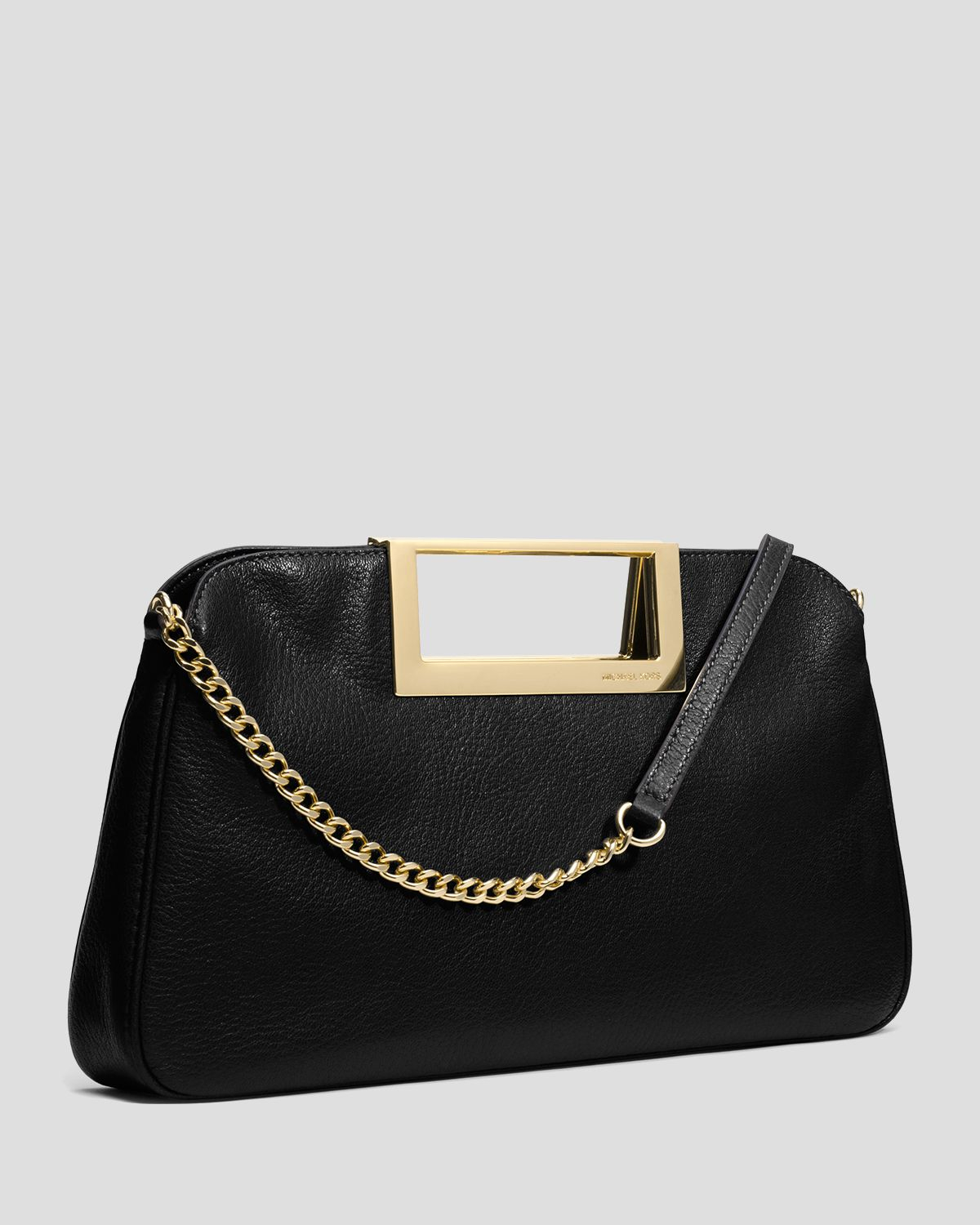 8567173806 ... Bag in Black Lyst Michael michael kors Clutch Berkley Large in Black  Lyst ...