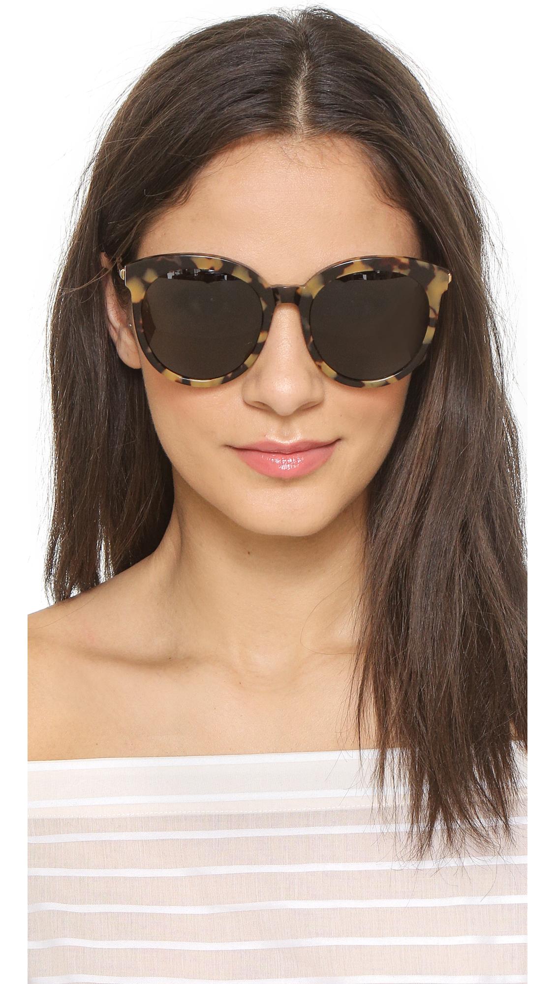 Lyst Gentle Monster Lovesome Sunglasses Tortoise Black