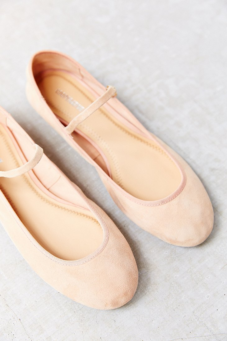 Lyst Cooperative Soft Ballet Flat In Pink