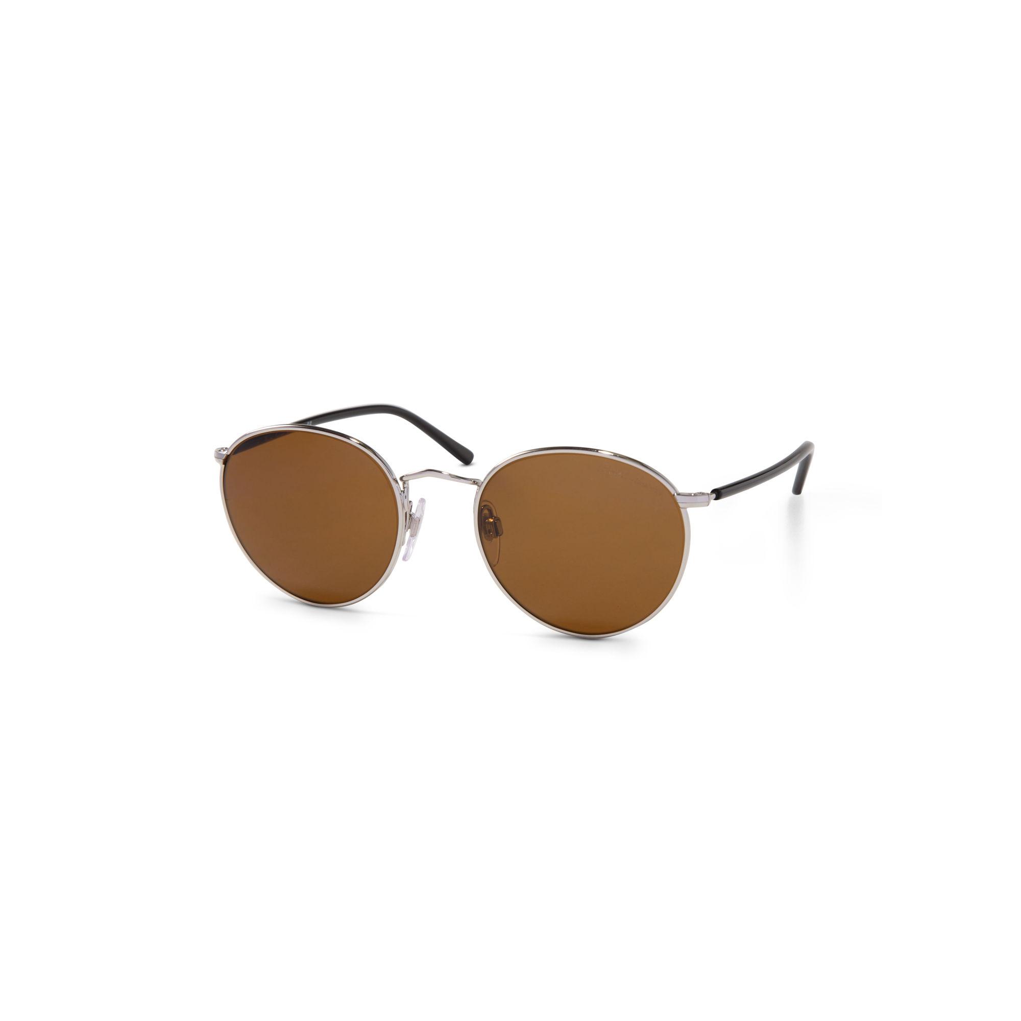 17085d1e8 ... clearance polo ralph lauren retro round sunglasses in metallic for men  lyst 381a4 d31bd ...