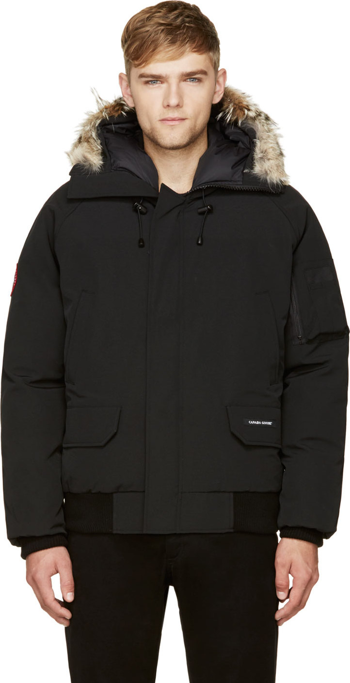 Canada Goose' 'Chilliwack' bomber, Men's, Size: Small, Black