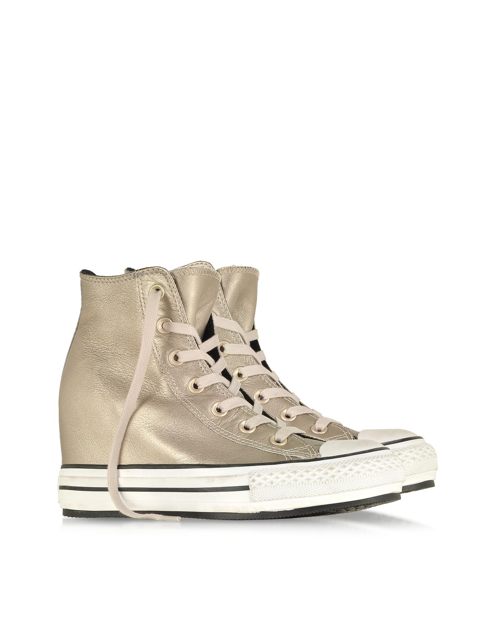 converse wedge beige