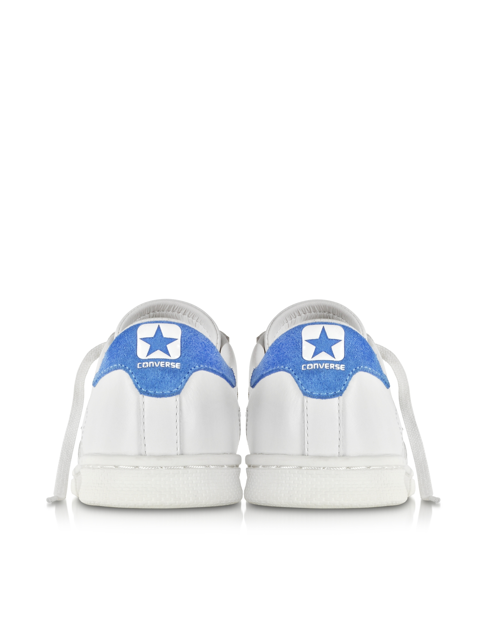 a618ada240ed94 Lyst - Converse Cons Pro Leather Lp Ox White Dust And Light Blue ...
