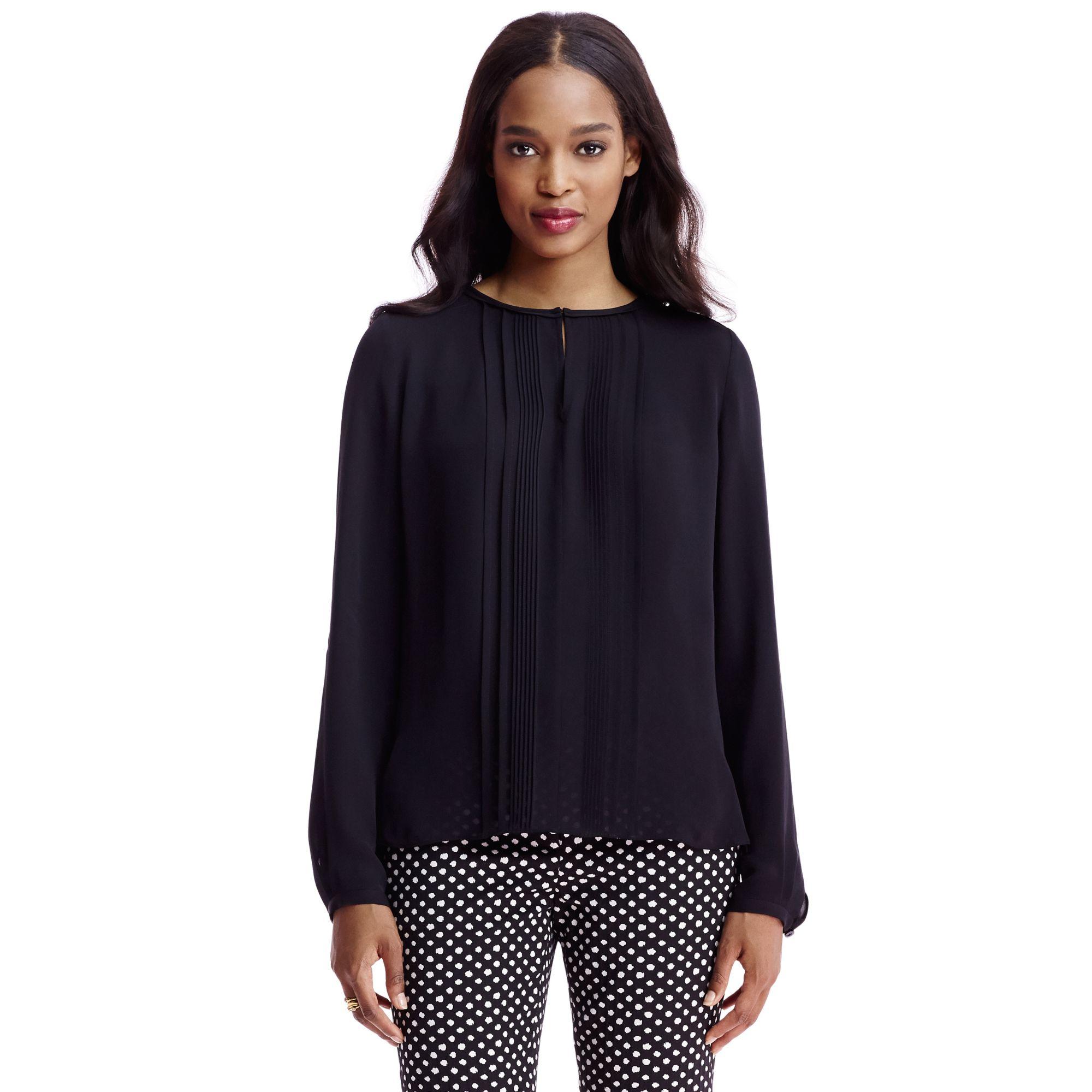 Black silk shirt Diane Von Fürstenberg Amazing Price Cheap Sale Pre Order 7R76c2