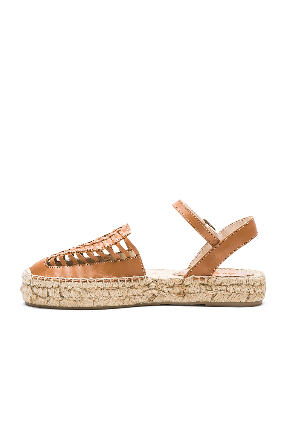 79329f9f276d Lyst - Soludos Platform Huarache Sandals in Brown