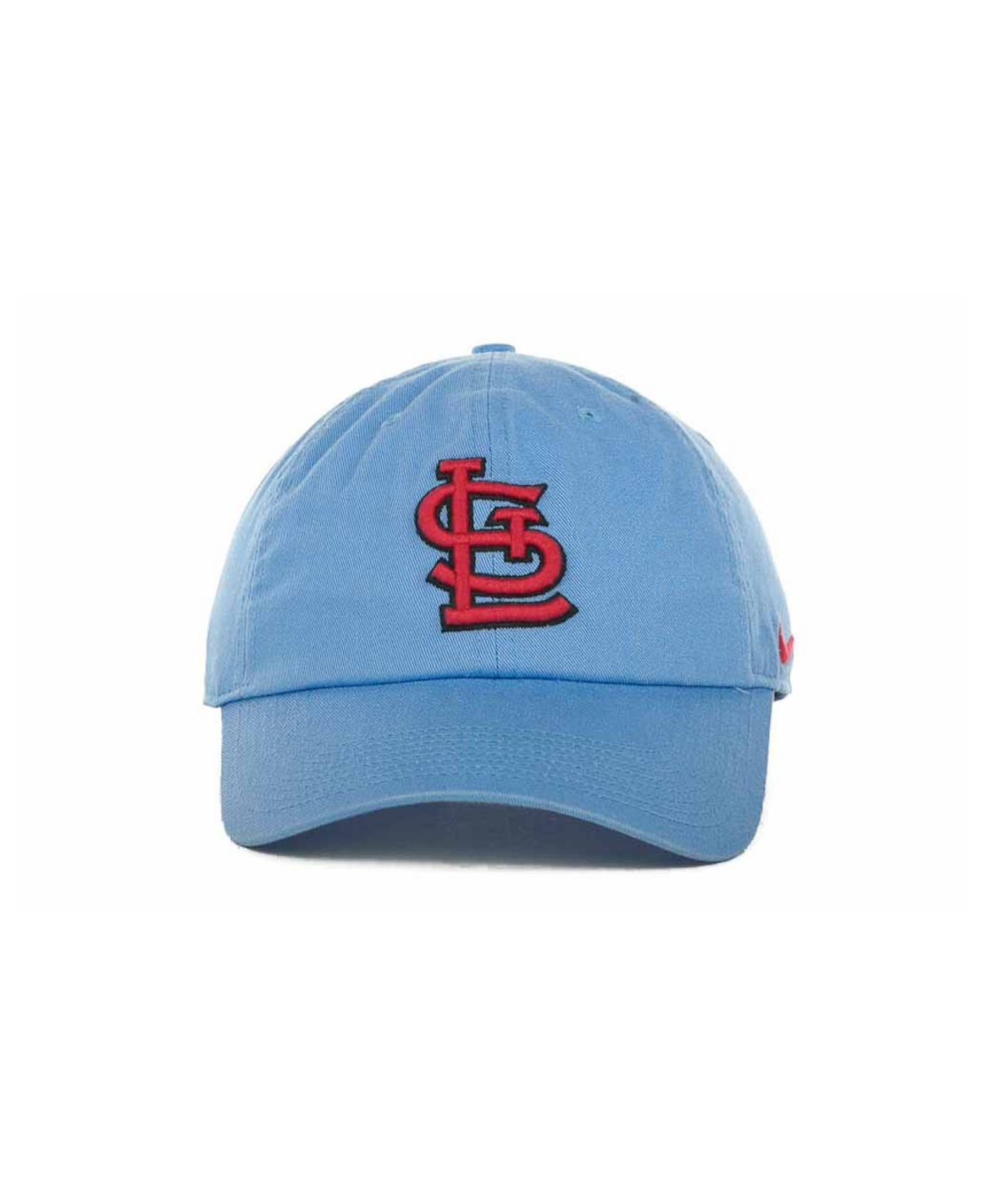 Lyst - Nike St. Louis Cardinals Stadium Cap in Blue for Men f35cb4bcd27