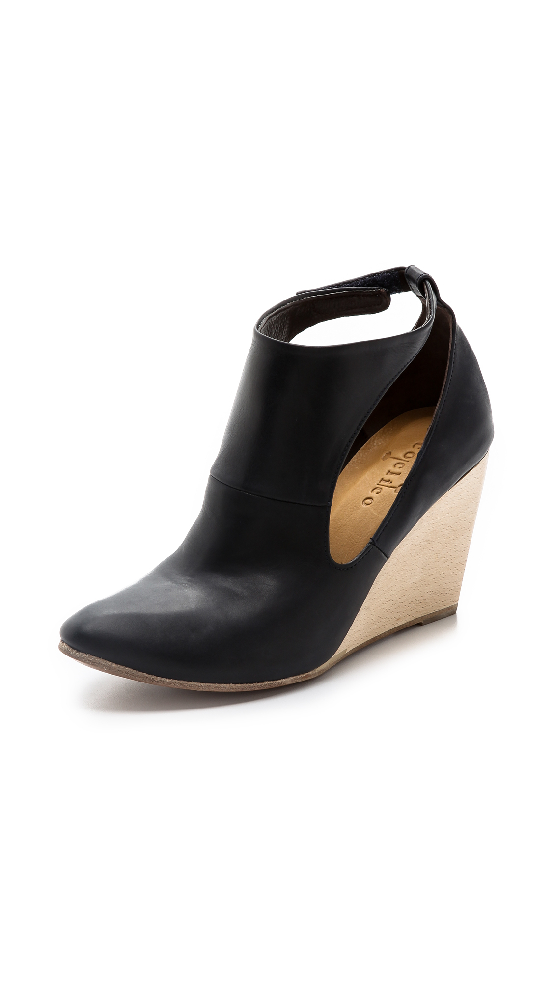 Lyst - Coclico Jory Booties in Black
