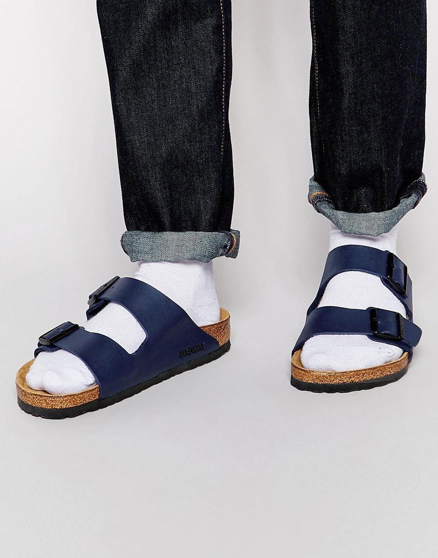birkenstock arizona blue