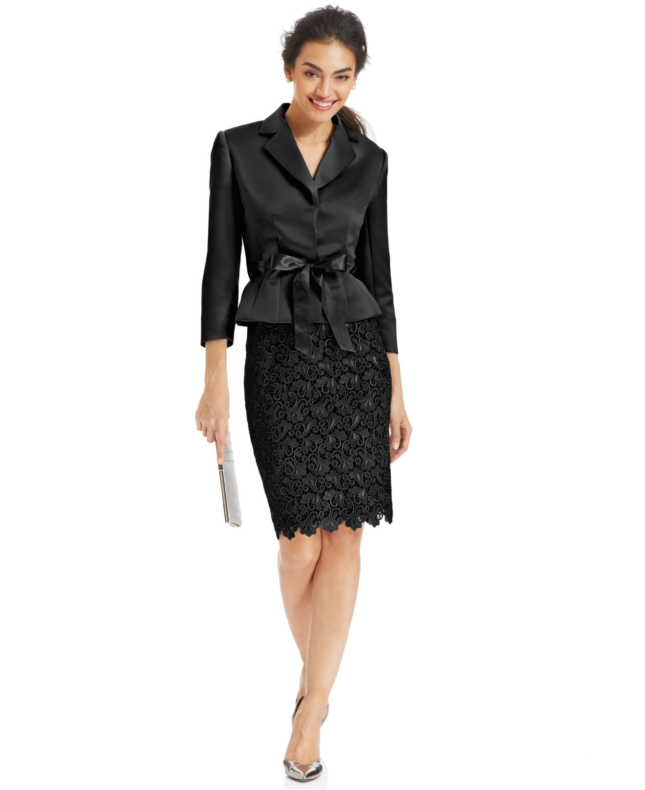 Wonderful Women Skirt Suits Blazer And Jacket Sets Fashion Ladies Business Suits
