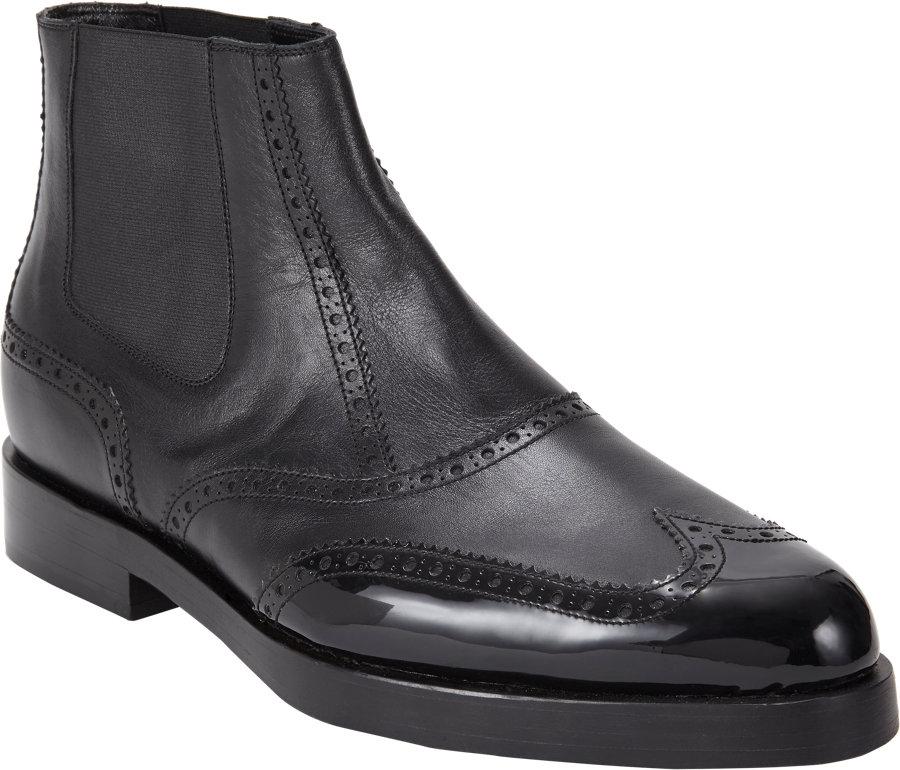 5b82811c60c29 Balenciaga Chelsea Boots Mens. Balenciaga Brogues Chelsea Boots in Black |  Lyst
