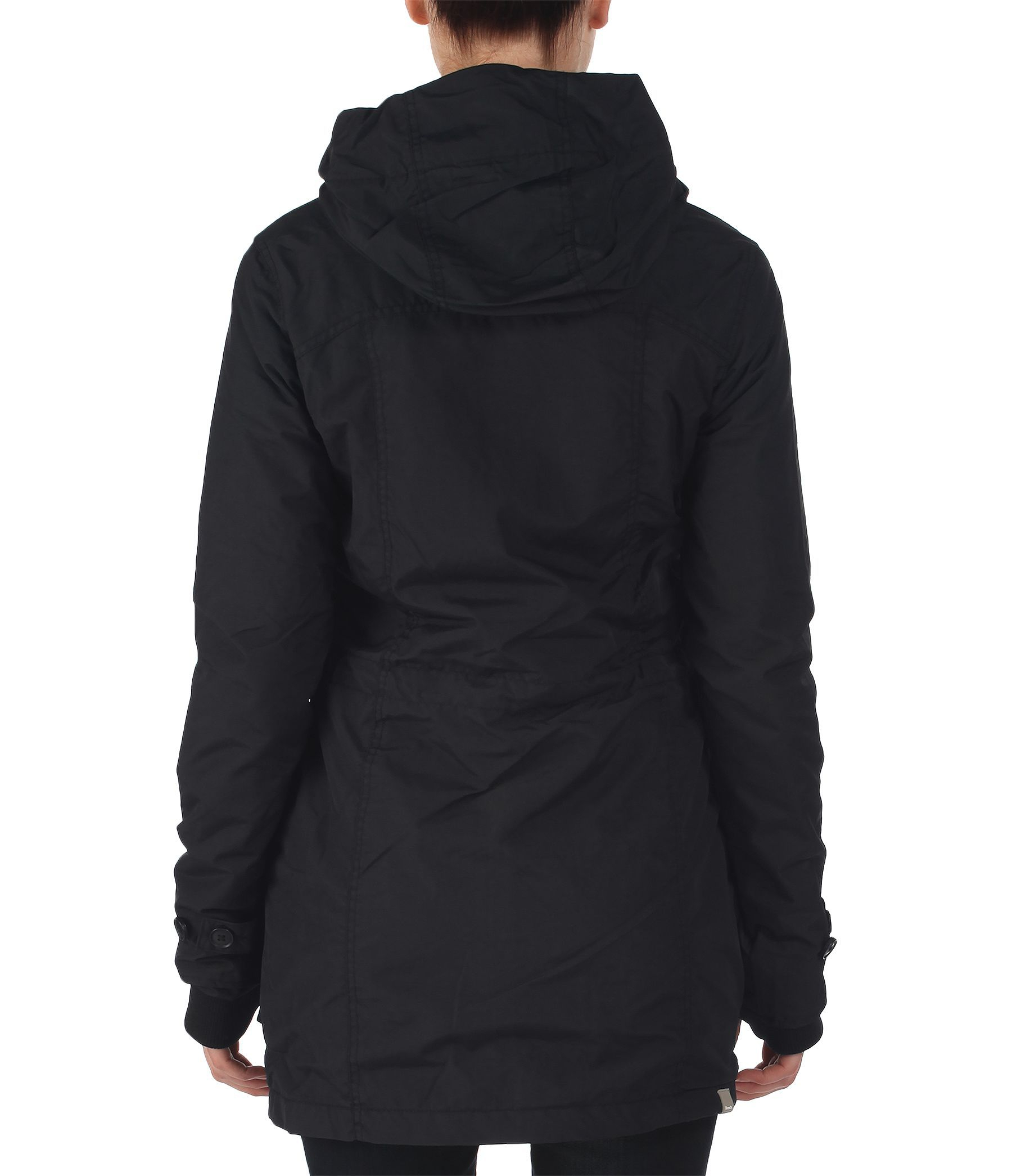 Lyst Bench Killian B Hooded Parka Coat In Black