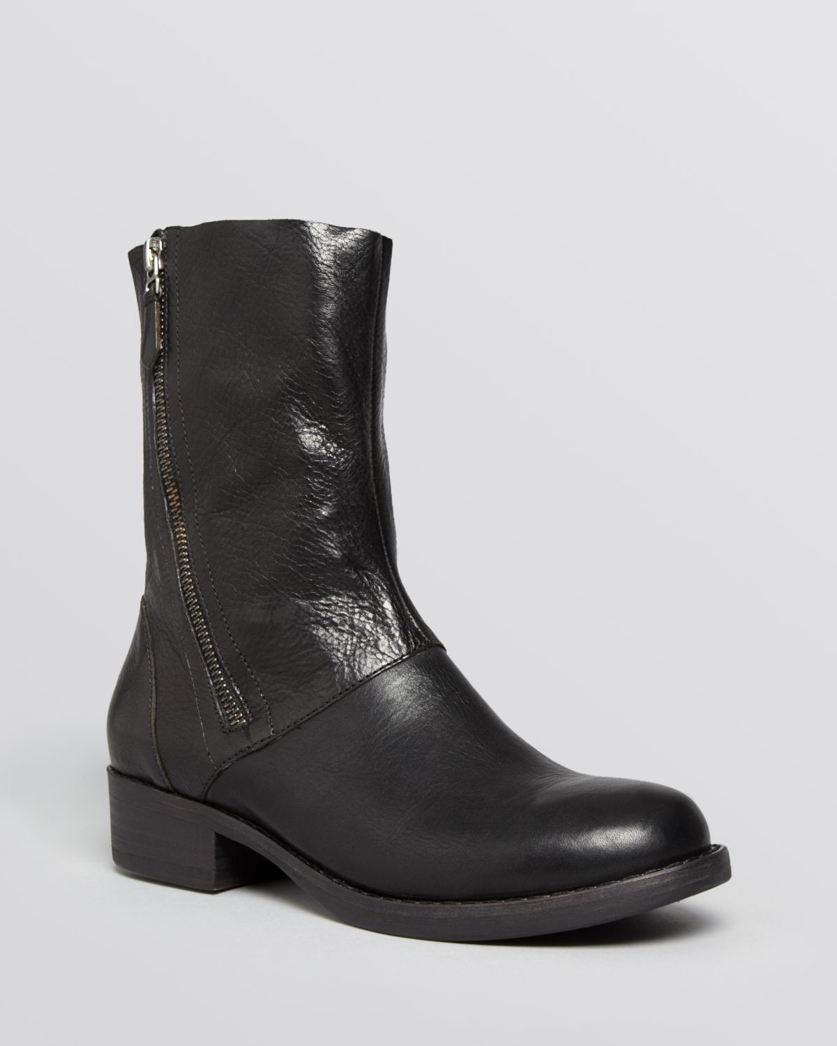 Lyst Eileen Fisher Boots Alfa Side Zip In Black