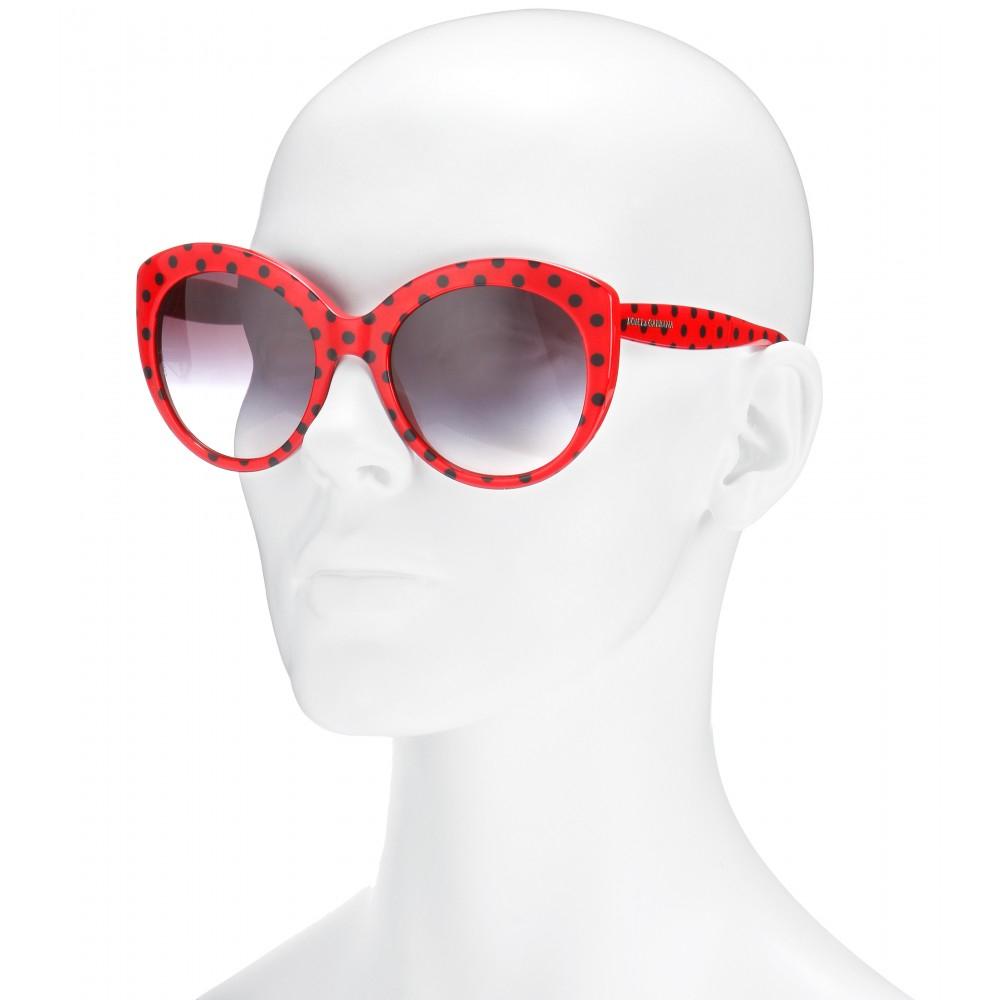 3a4fa36d210 Dolce   gabbana Cat-Eye Sunglasses in Red