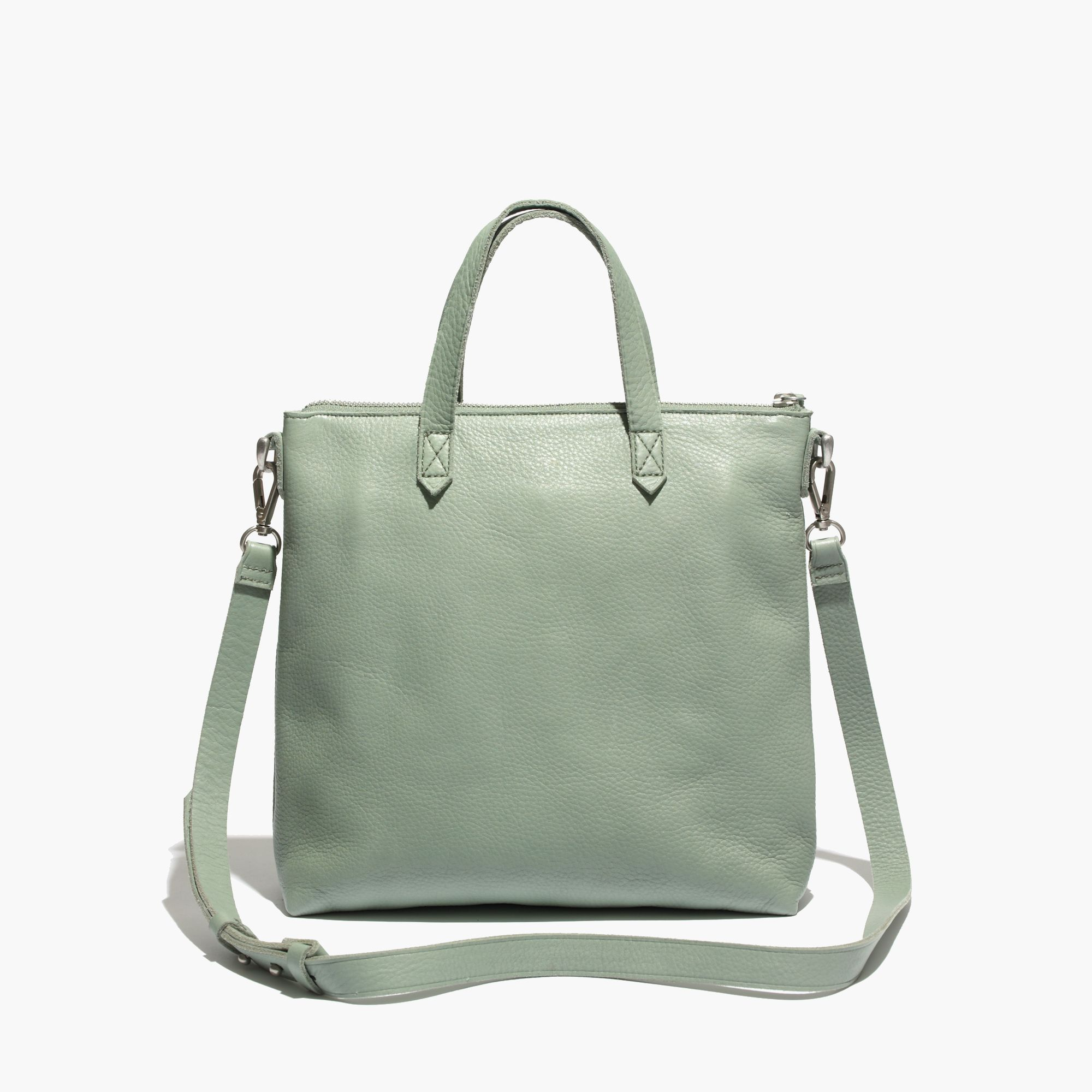 madewell the mini transport crossbody in green lyst