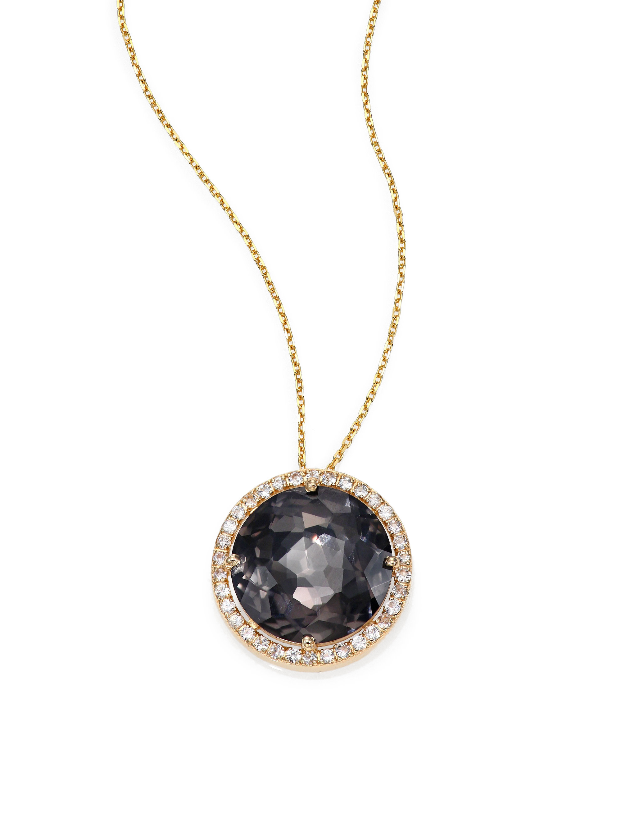 sky diamond gold necklace white lariat night