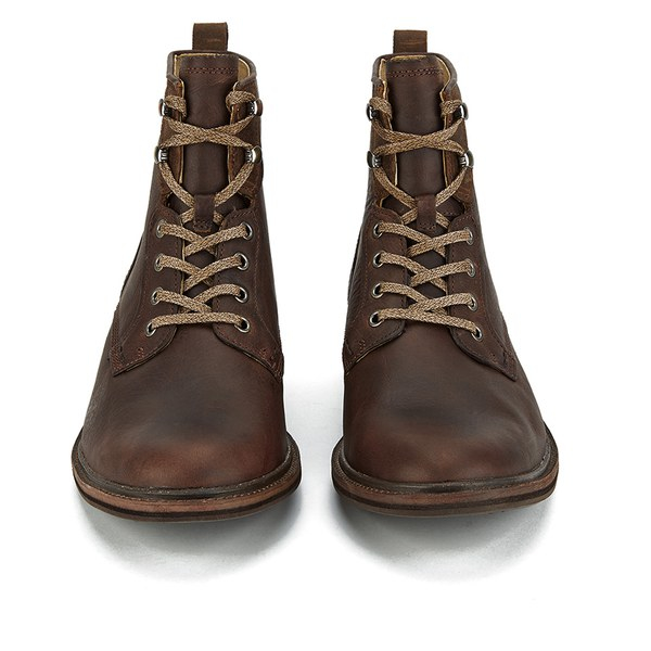 Ugg Men's Selwood Lace-up Leather Boots in Brown for Men | Lyst