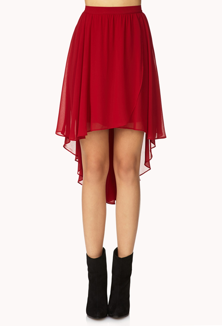Red Skirts for Juniors