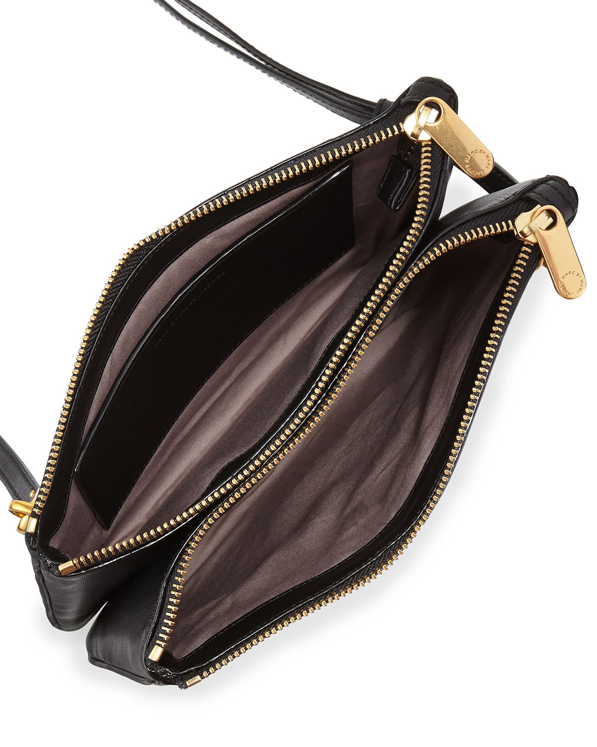 c2c32da279b4 Marc By Marc Jacobs Ligero Double Percy Leather Cross-Body Bag in ...