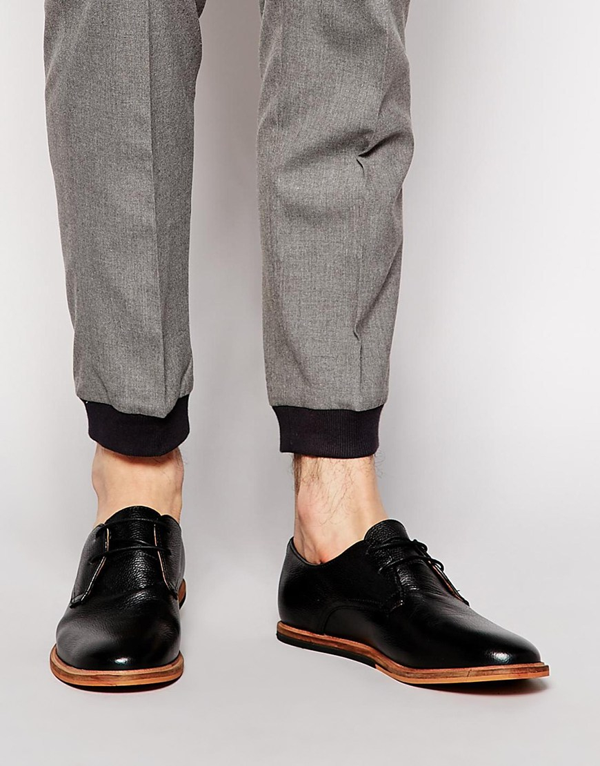 Frank Wright Brogue Derby Shoes In Patent Leather PeOvfafM3