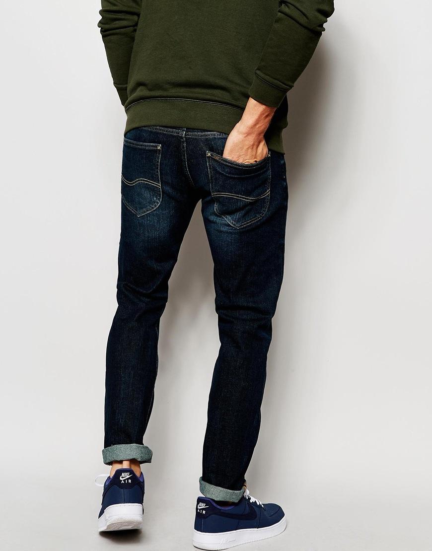 Lee black skinny fit jeans