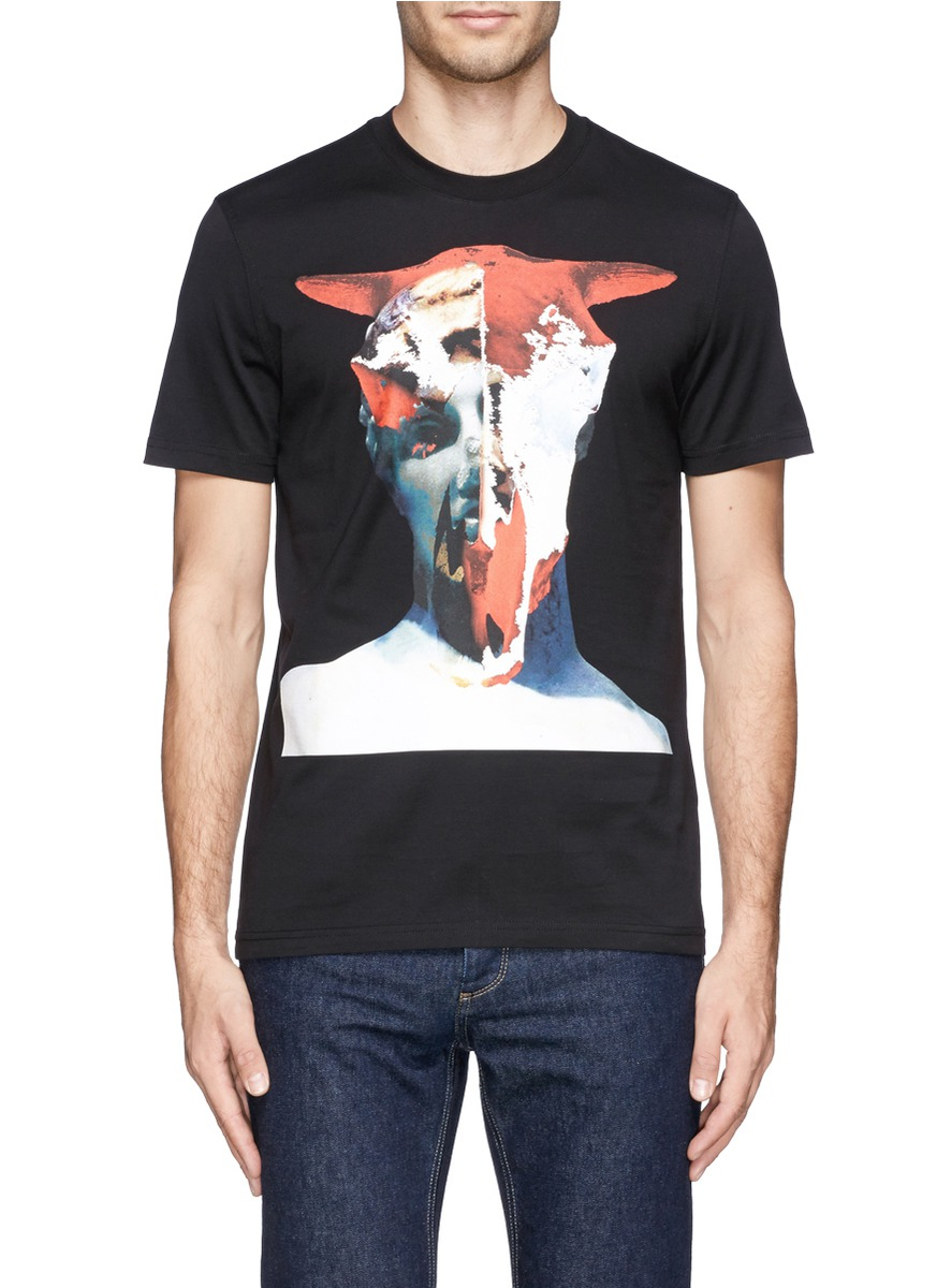 Givenchy Minotaur Print T Shirt In Black For Men Lyst