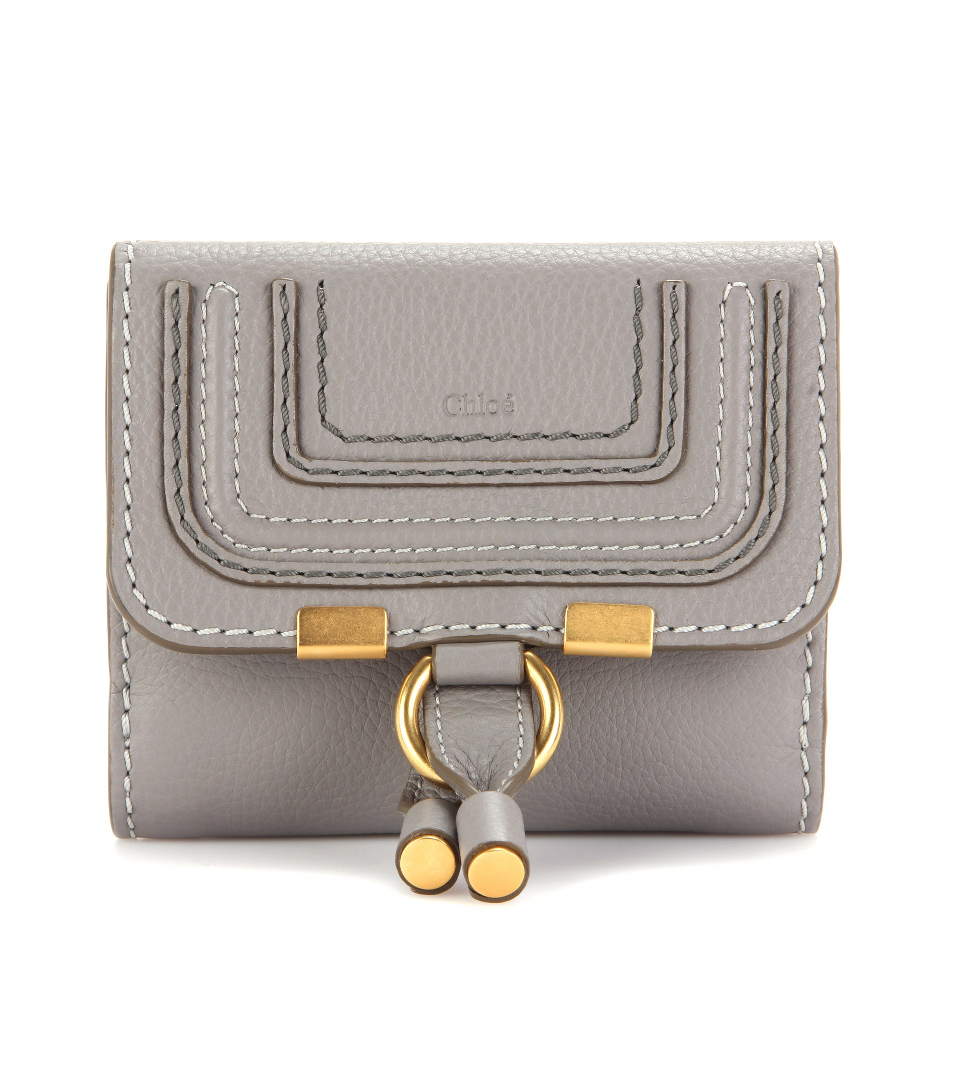 Marcie leather wallet Chlo SokL3F