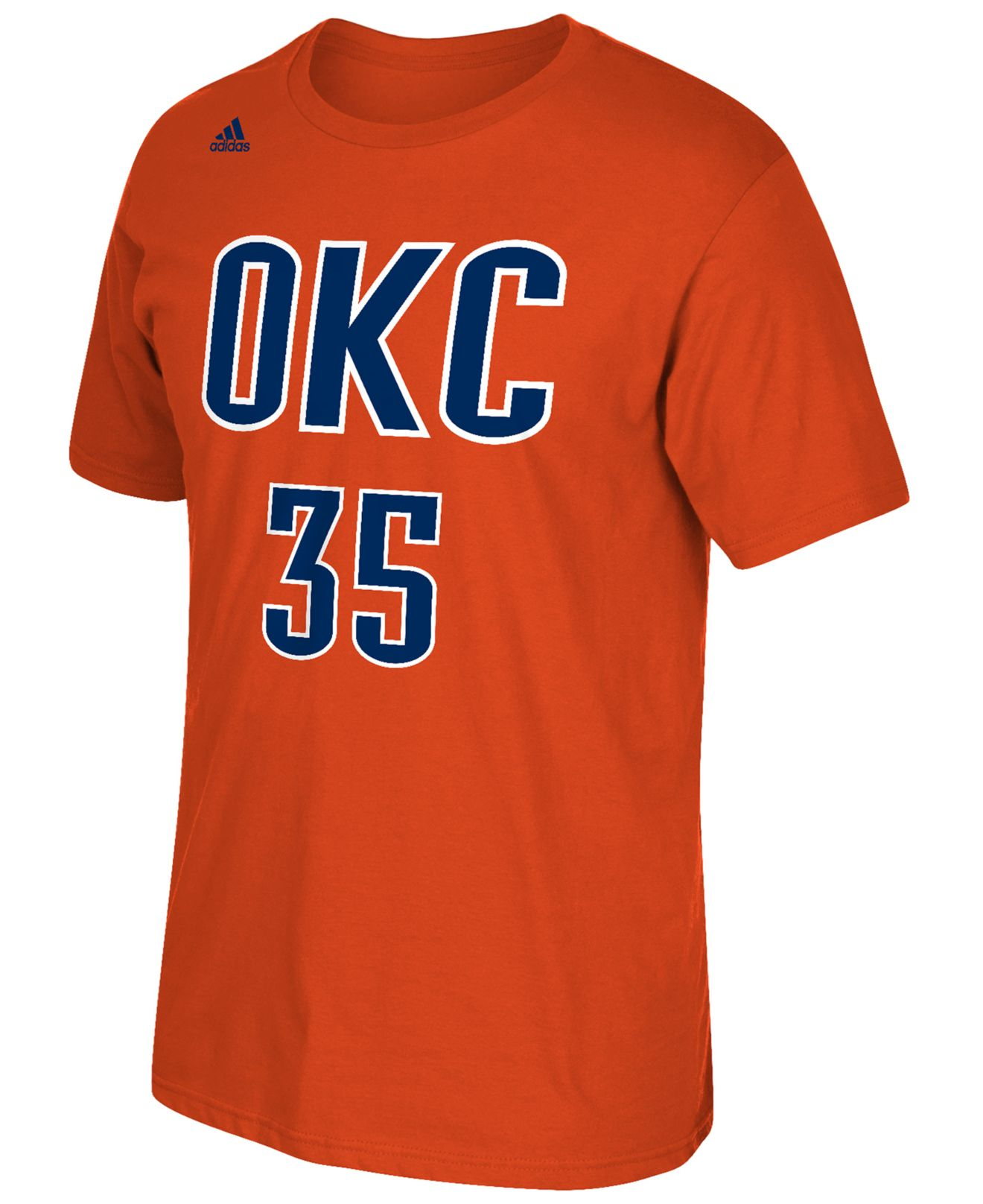 Lyst adidas originals men 39 s kevin durant oklahoma city for T shirt printing okc