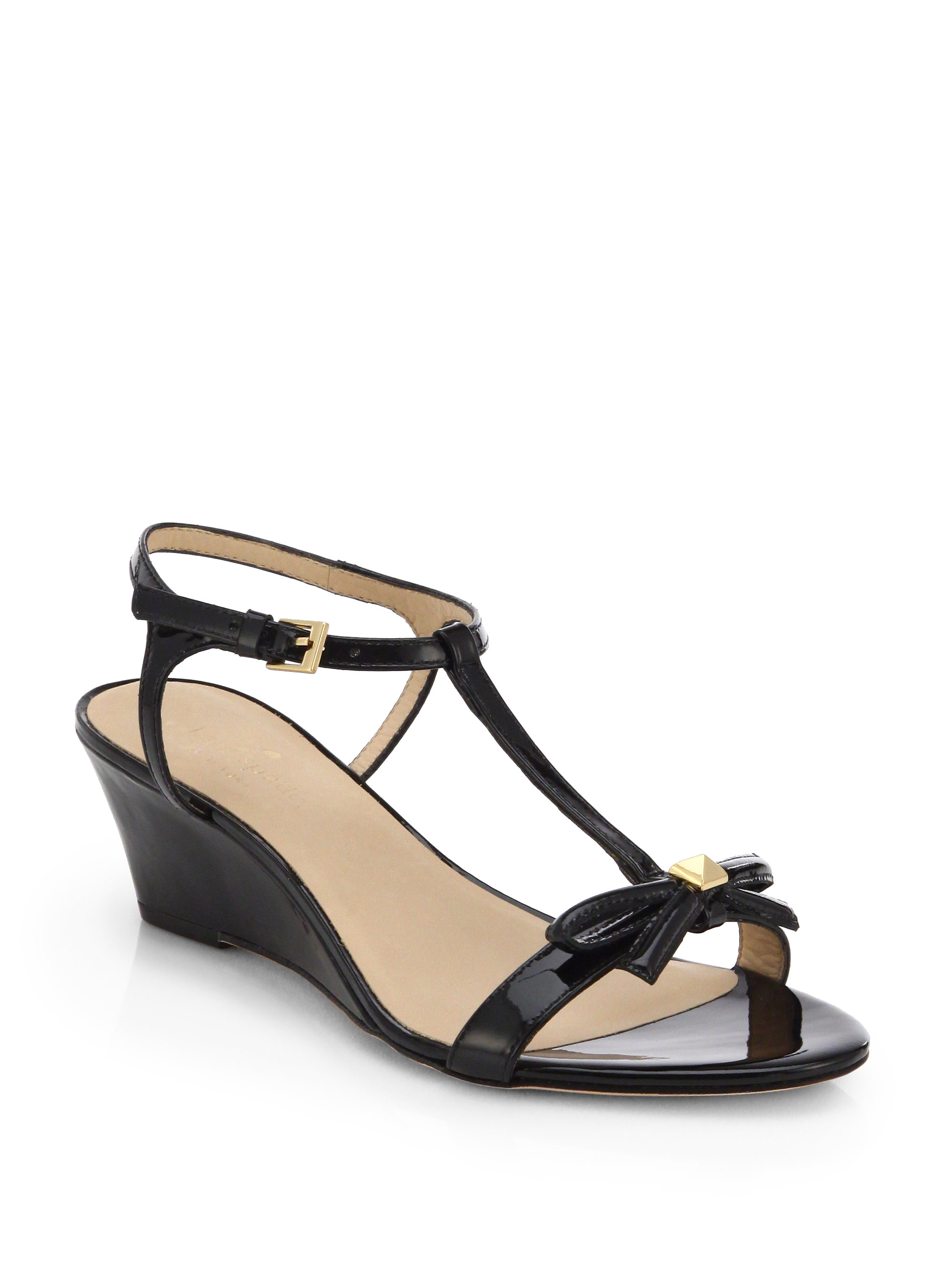 Lyst Kate Spade New York Donna Patent Leather Wedge