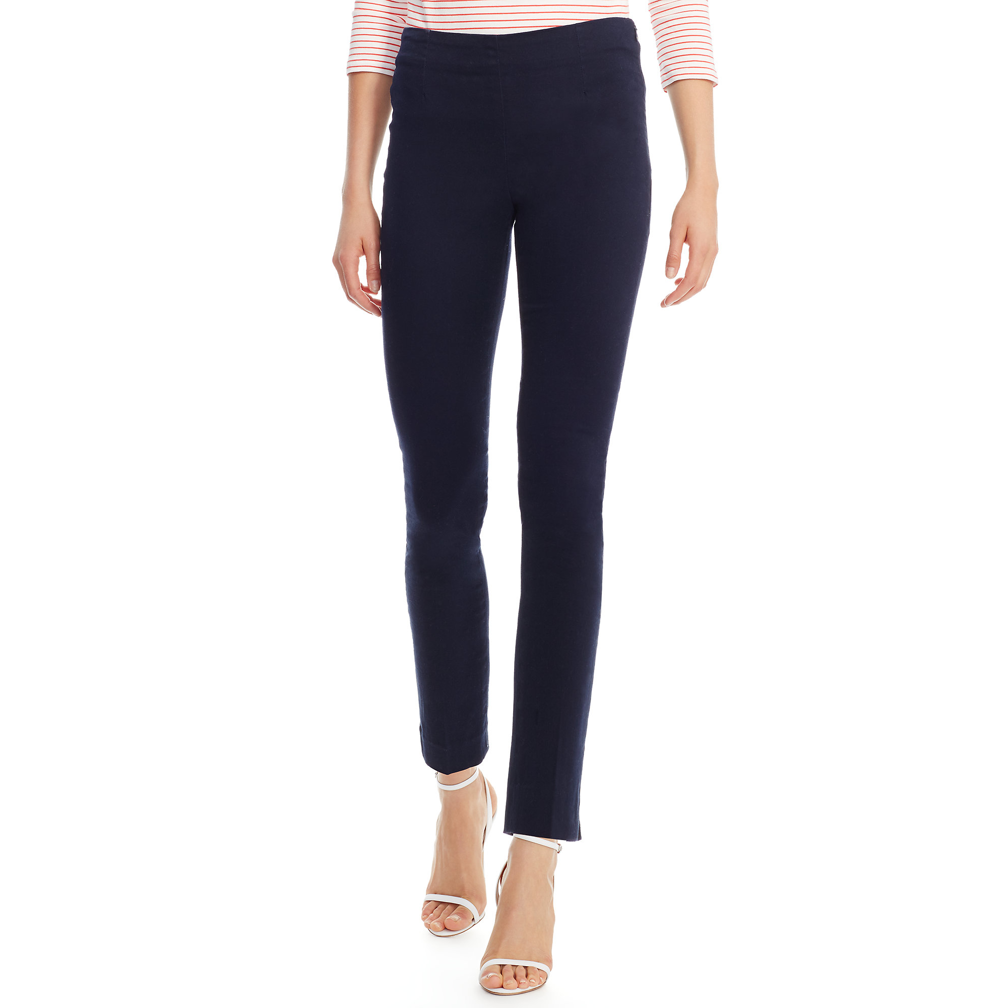 83305978d6864 Lyst - Polo Ralph Lauren Stretch Cotton Skinny Pant in Blue