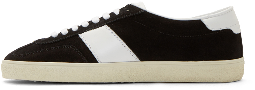 Saint Laurent Suede Court Classic Sneakers Y8RpSYvy