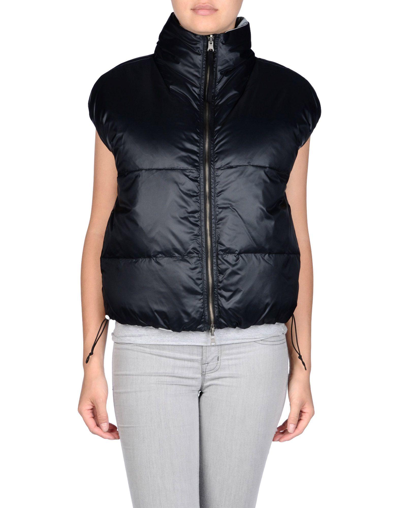 Lyst mm6 by maison martin margiela down jacket in black for Mm6 maison martin margiela