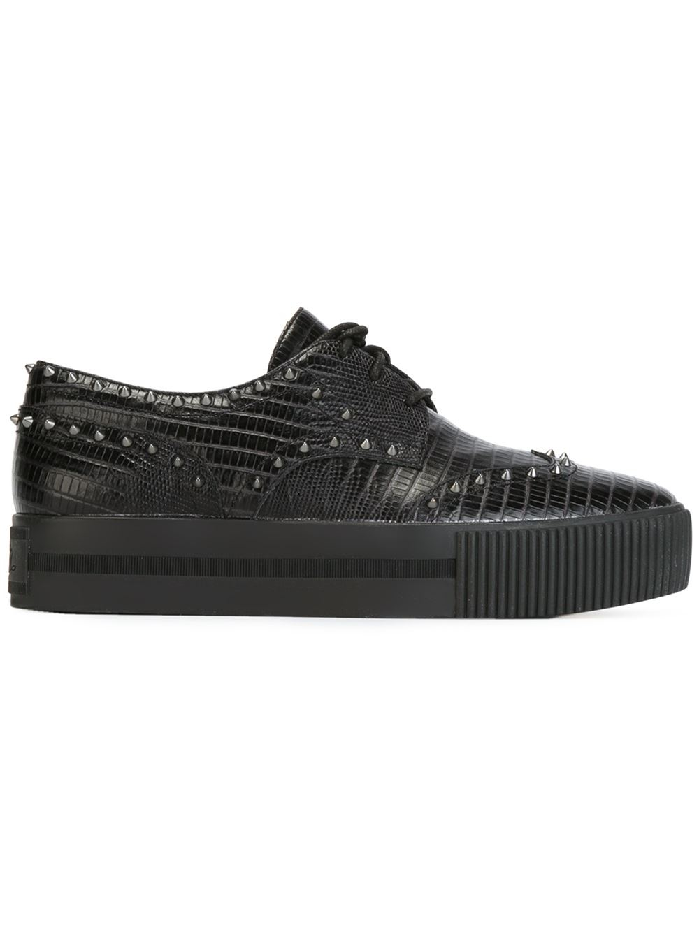 Kenzo Studded Lace Up Shoes
