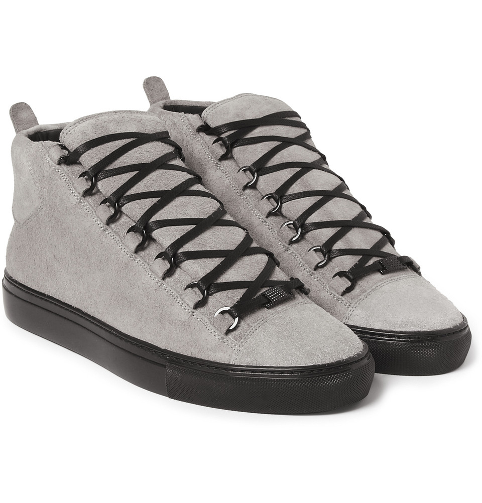 Lyst - Balenciaga Arena Sneakers-Grey Size 15 Medium in Gray for Men 5f15753760ab