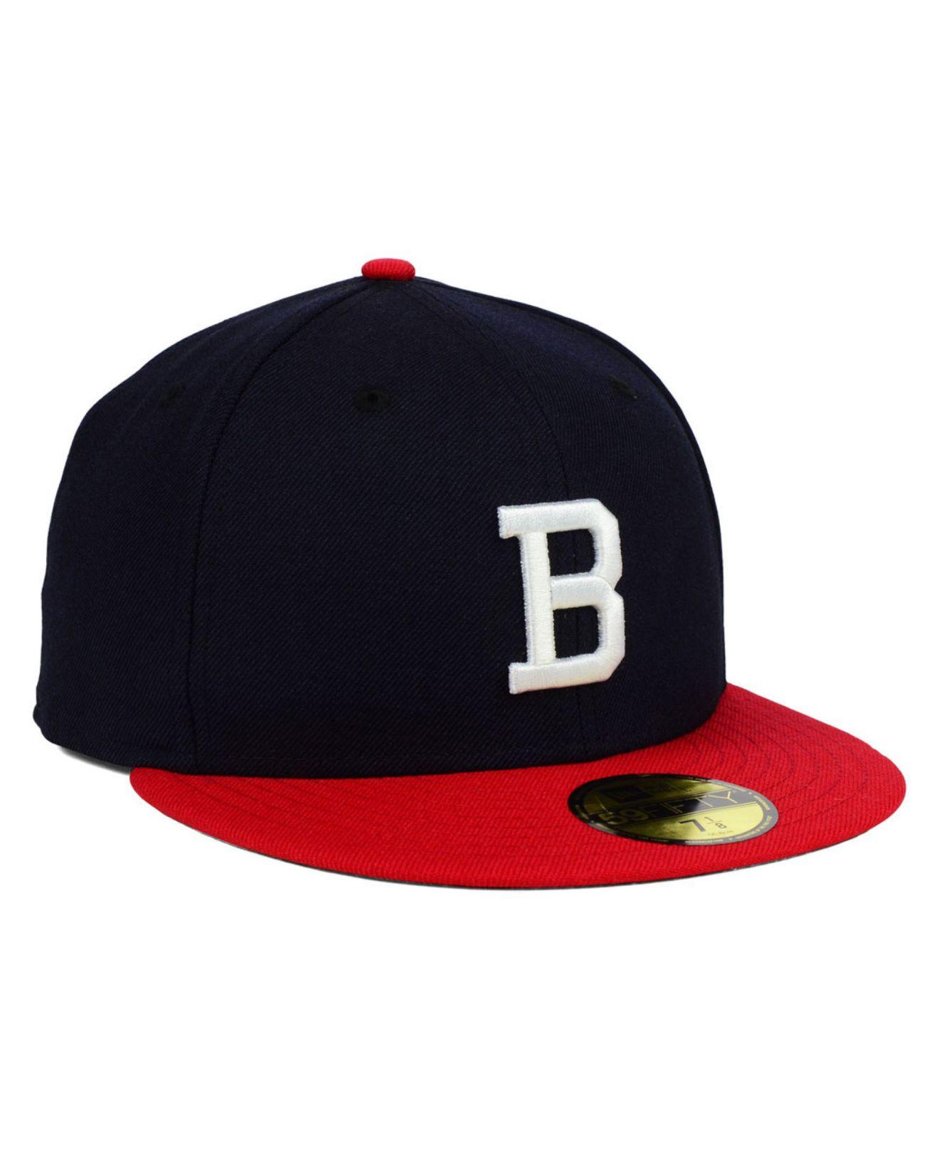 best website 58a19 f3703 ... sale lyst ktz boston braves cooperstown 59fifty cap in blue for men  41d62 5f020